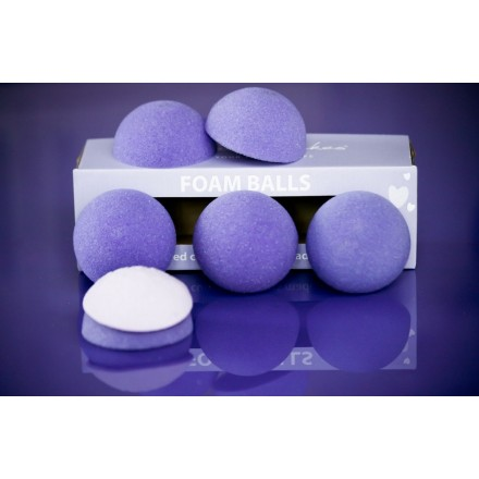 Purple Cupcakes Foam Balls for Cupcake Toppers