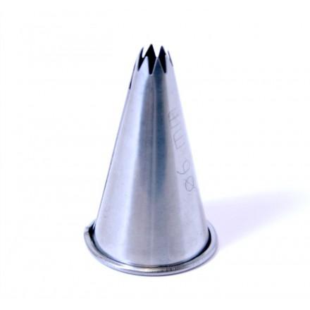 Stainless Steel Star Tubes for Buttercream
