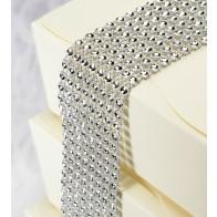 Diamante Effect Ribbon