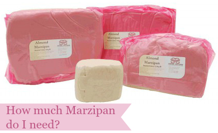 How much marzipan do I need?