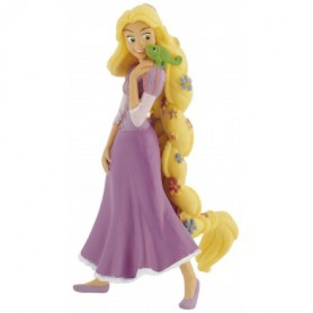 Rapunzel with Flowers Topper