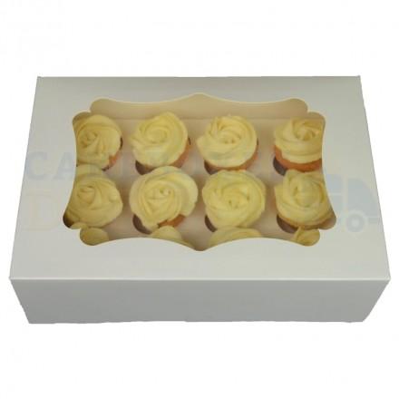 12 Hole Mini Cupcake Box