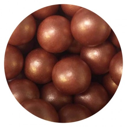 Rose Gold/Copper Chocoballs - Large 100g