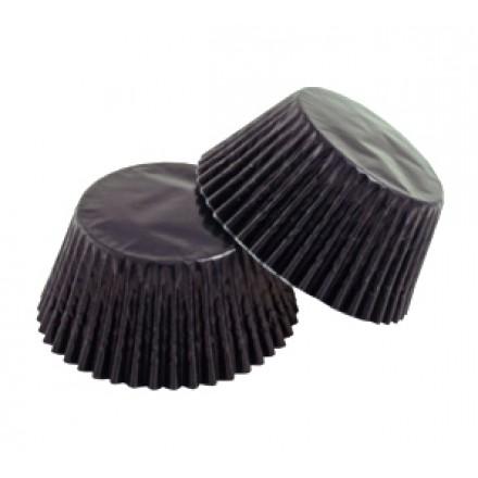 Black Foil Cupcake Cases (pack of 50)