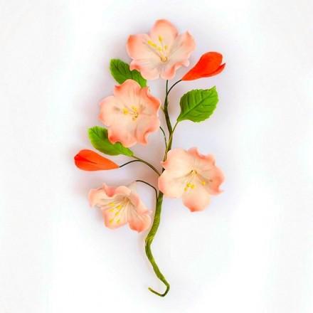 Apple Blossom Spray - 17cm