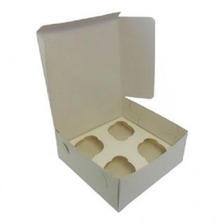 4 Cupcake Box - No Window
