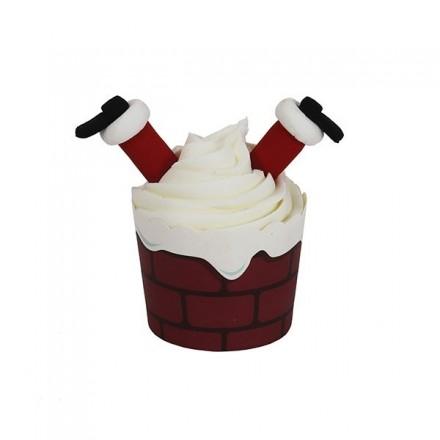 Cupcake Kit - Santa