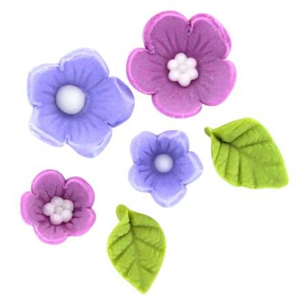 Sugar Flower and Leaf Decorations
