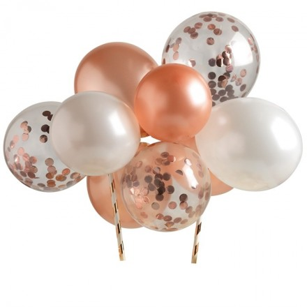 Rose Gold Balloon Clouds