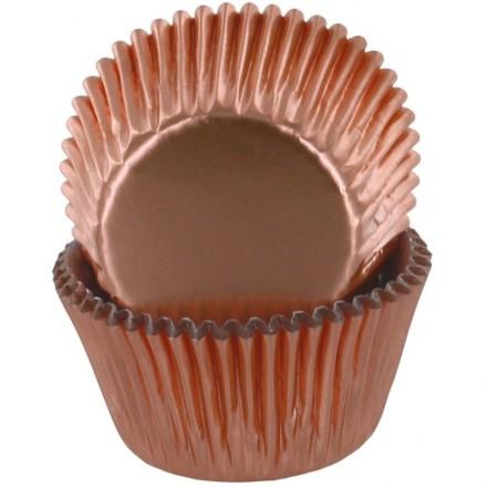 Rose Gold Foil Cupcake cases (pack of 50)