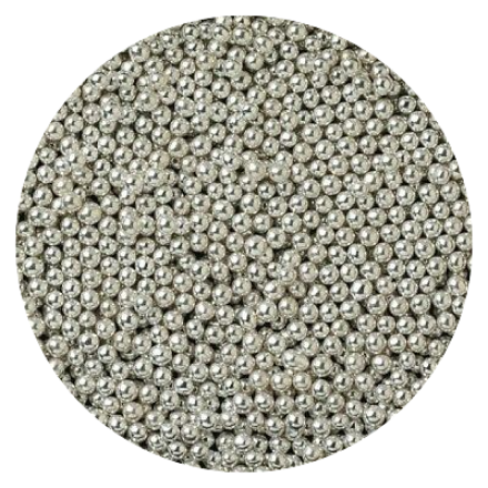 Silver Dragees 2mm 100g