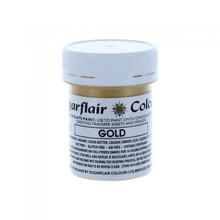 Edible Chocolate Paint - Gold