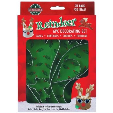 Reindeer Decorating 6 Piece Set