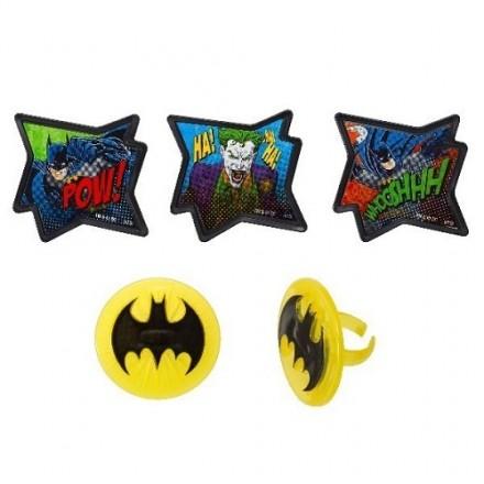 Batman Rings Set of 4