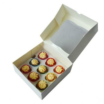 9 Hole Mini Cupcake Box
