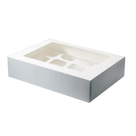 12 Hole Cupcake Box