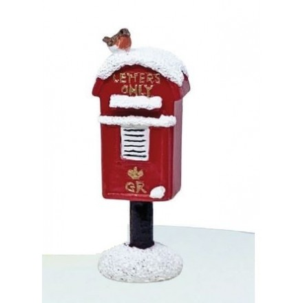 Postbox and Robin Topper