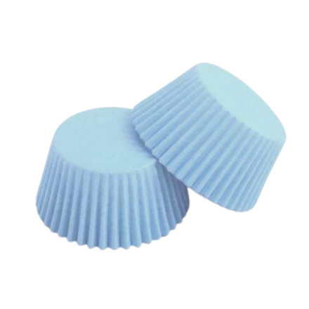Baby Blue Cupcake Cases Roll of 180