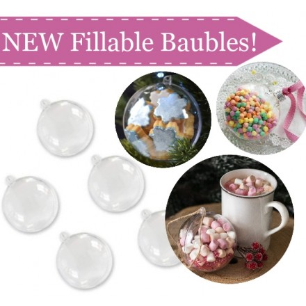 Fillable Christmas Baubles