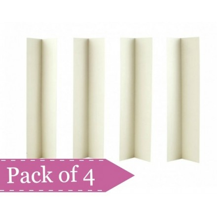 Cake Box Extension Corners - Set of 4