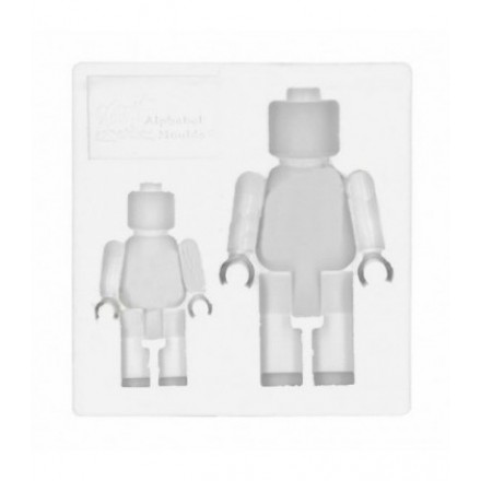 Brick Men Mould
