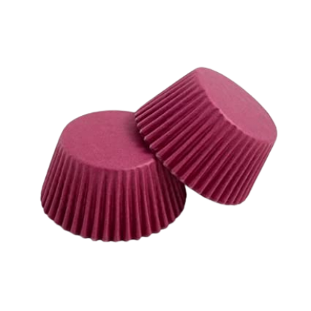 Burgundy Cupcake Cases ROLL OF 180