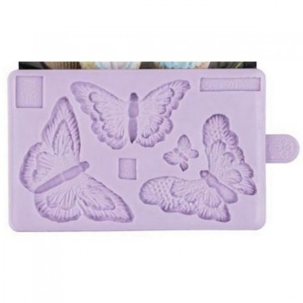 Butterfly Brush Embroidery Mould