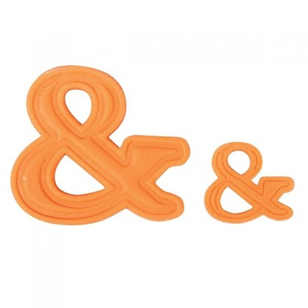 Set of 2 & (ampersand) Plunger Cutter
