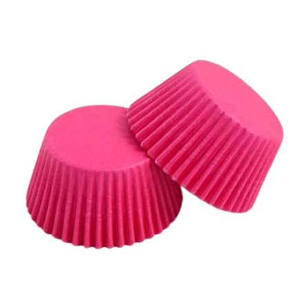 Cerise Cupcake Cases ROLL OF 180