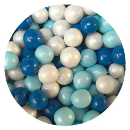 Small Blue Mix ChocoBalls 100g