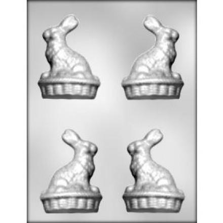 Bunny on Basket Mould