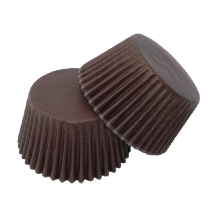 Chocolate Brown Cupcake Cases ROLL OF 180