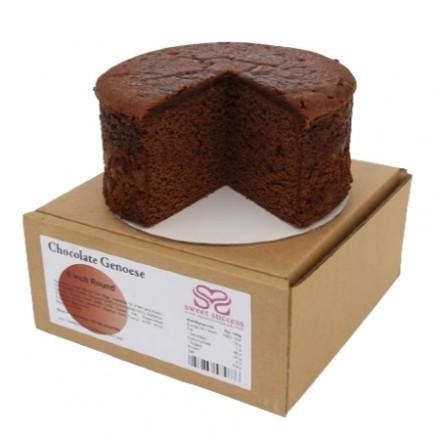 Classic Chocolate Sponge Cake