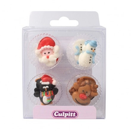 Christmas Friends Pipings - Box of 12