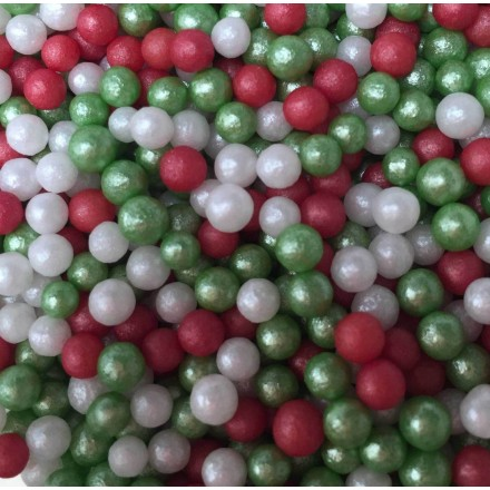 Christmas Mix Micropearls 100g