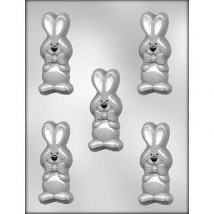Easter Bunny with Bow Tie Mould