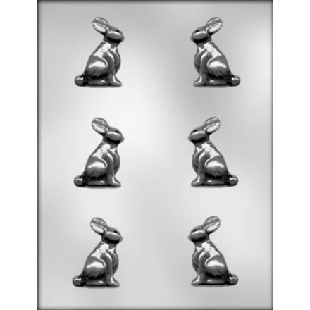 Small Bunny Mould 2 Inch