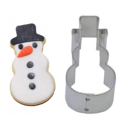Mini Snowman Cookie Cutter 4.5cm