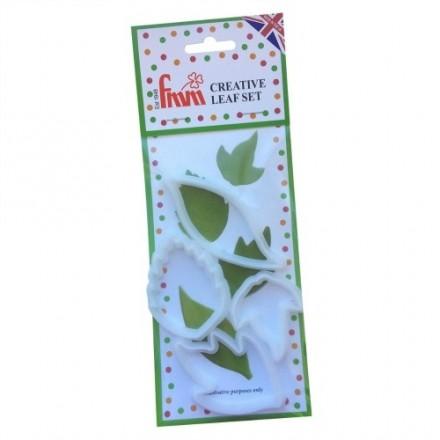 Creative Leaf Cutter (Set of 4)