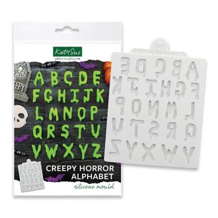 Creepy Horror Alphabet Silicone Mould