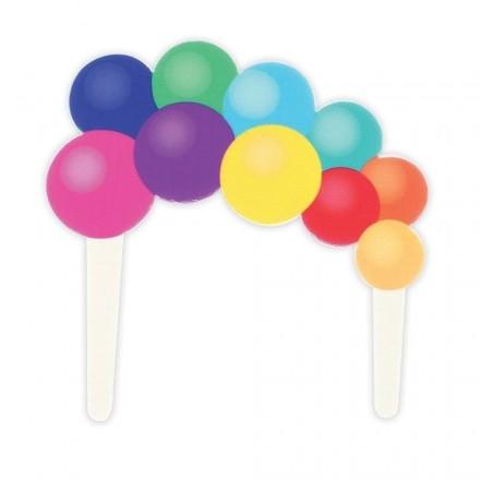 Gumpaste Balloon Garland