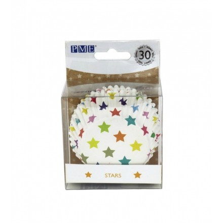 Stars Cupcake Cases (pack of 30)