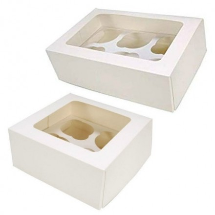 1, 4 and 6 Hole Cupcake Boxes