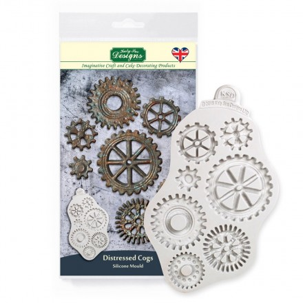 Distressed Cogs