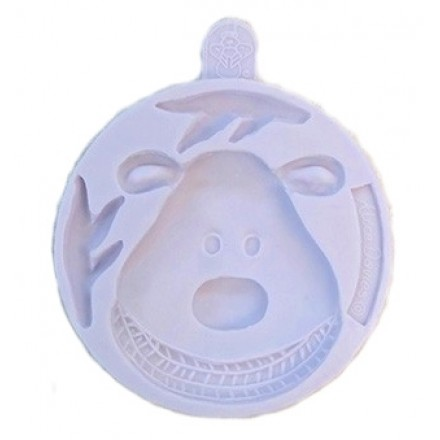 Rudolph Cupcake Mould