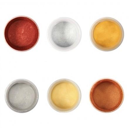Colour Splash Pearl Dusting Colours