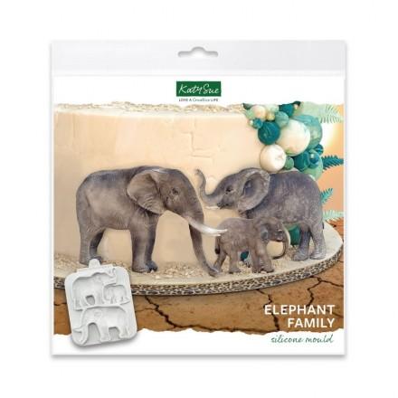 Elephant Family Mould