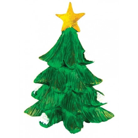 Green Christmas Tree Topper