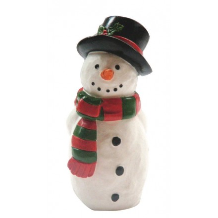Snowman with Top Hat Cake Topper