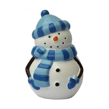 Snowman Topper with Bobble Hat